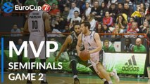 7DAYS EuroCup Semifinals Game 2 MVP: Sam Van Rossom, Valencia Basket