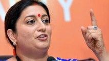 Smriti Irani ने अपने Birthday पर PM Modi से किया वादा, Amethi तैयार फिर मोदी सरकार   वनइंडिया हिंदी