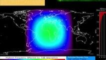 Alerta de TORMENTA SOLAR o Geomagnética emitida por la NOAA y SWPC G2 para el 23M y G1 24M