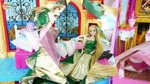Barbie Robes de Nouvelles Robes de soirée avec Elsa Raiponce Gaun Boneka Barbie Boneca Barbie Vestidos