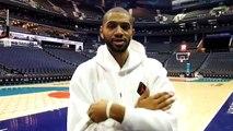 Basket-Ball - Nicolas Batum à Charlotte où il pilote LDLC ASVEL avec Tony Parker