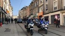 Manifestation des Gilets Jaunes au Mans