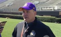 Mike Houston happy with ECU's first practice inside Dowdy-Ficklen