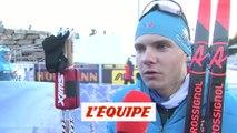 Jacquelin «Les circonstances m'ont frustré» - Biathlon - CM (H)