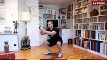 Sport à domicile #5 - squats, pompes et gainage