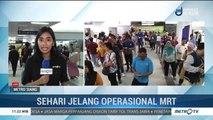Animo Masyarakat Uji Coba MRT