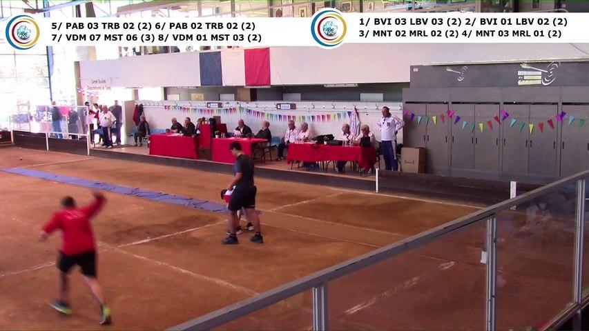 Premier tour, combinés, demi-finales,  France Clubs Jeunes, Eybens 2019