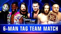 WWE SmackDown LIVE: AJ Styles, Jeff Hardy & Kofi Kingston vs. Daniel Bryan, Randy Orton & Samoa Joe | Español Latino HD