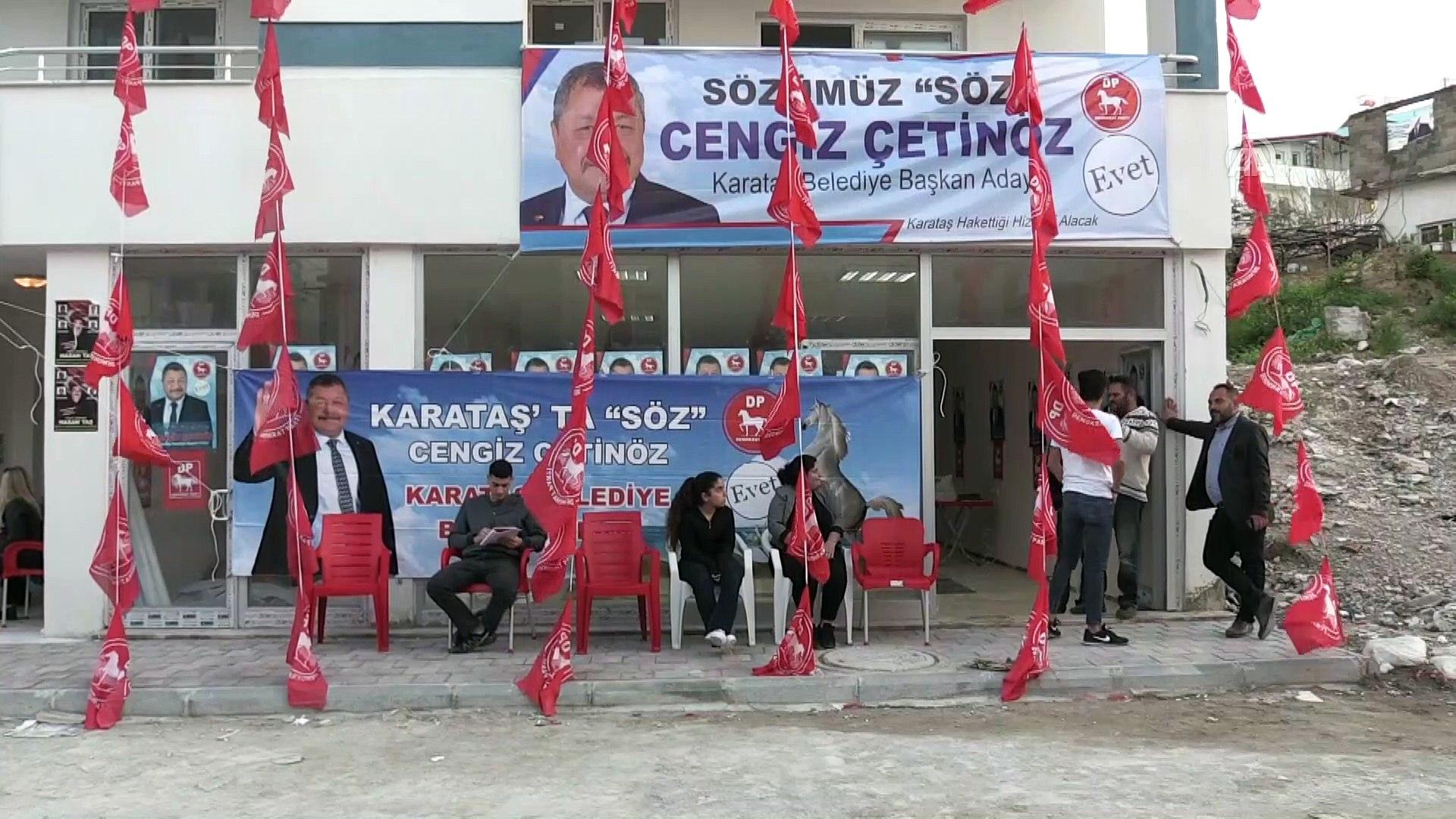 DP Genel Başkanı Uysal: 'Milletimiz çok uzun süredir bir kıskaç içerisinde' - ADANA
