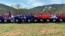 Clermont-l'Hérault : cross national des sapeurs-pompiers