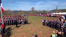Clermont-l'Hérault : cérémonie du cross national des sapeurs-pompiers