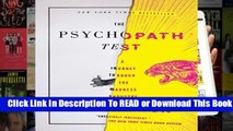 Full version  The Psychopath Test: A Journey Through the Madness Industry  Best Sellers Rank : #5
