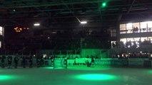 Hockey sur glace : les joueurs d'Epinal fêtent la qualification pour les quarts de finale avec leurs supporters