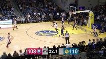 Johnathan Motley (22 points) Highlights vs. Santa Cruz Warriors