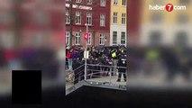 Avrupa'nın göbeğinde küstah provokasyon! Kur'an-ı Kerim yaktı - DÜNYA Haberleri