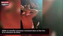 Adèle et Jennifer Lawrence s'éclatent dans un bar gay (vidéo)