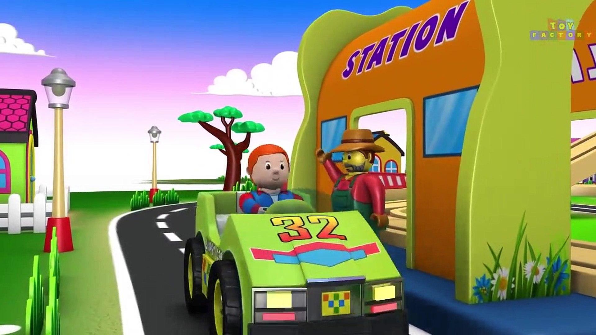 Usine de jouets de dessin animé - les Trains pour les ENFANTS - Choo Choo Train - Trains Jouets Dess