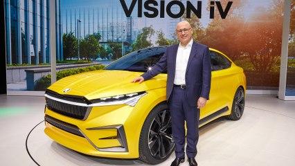 Genf 2019: Skoda präsentiert mit Vision iV Ausblick auf künftige Elektrofahrzeuge