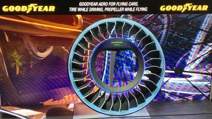 Genf 2019: Goodyear präsentiert den AERO - Einen Reifen zum Abheben
