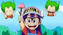 Beerus, SSJ Blue Goku, and Vegeta Vs. Arale!!! DBZ Crossover Special!!