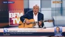 """Enrico Macias interprète """"Le mendiant de l'amour"""" dans Et en même temps"""