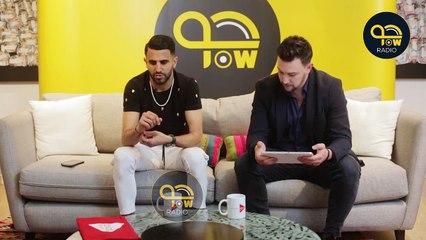Interview de Mahrez sur l'émission «Ball ON» de JOW Radio