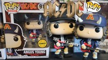 ACDC Angus Young Chase Funko Pop Detailed Look Review Unboxing With Common Comparison #ACDC #FUNKOPOP