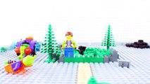 LEGO Batman Brick Building STOP MOTION LEGO Batman vs Villain: Race | LEGO Batman | By LEGO Worlds