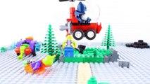 LEGO Batman STOP MOTION Brick Building LEGO Batman vs Mr Freeze | LEGO Batman | By LEGO Worlds