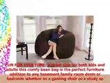 Chill Sack Bean Bag Chair Giant 7 Memory Foam Furniture Bean Bag  Big Sofa with Soft