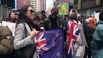 """İslamofobi'ye Karşı """"Birlik"""" Protestosu - New York"""