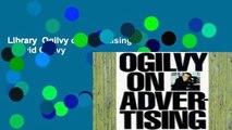 Library  Ogilvy on Advertising - David Ogilvy