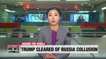 AG summary of Mueller report states Trump did not collude with Russia to win presidency