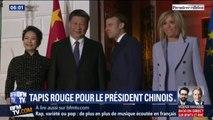 Emmanuel Macron a accueilli Xi Jinping hier soir, mais quels sont les enjeux de la visite du président chinois en France ?