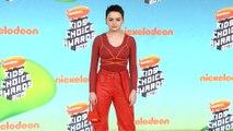 Joey King 2019 Kids' Choice Awards Orange Carpet
