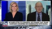 Alan Dershowitz Slams Robert Mueller 'Cop Out': 'It Sounds Like A Law School Exam'