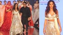 Shibani Dandekar shines at Bombay Fashion Week on ramp in silver dress; Watch video | Boldsky