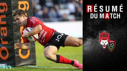 Résumé Lyon/Toulon TOP14 J20