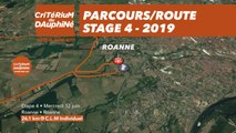 Parcours /Route - Étape 4/Stage 4 : Critérium du Dauphiné 2019
