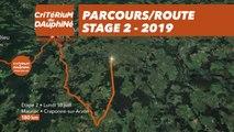 Parcours /Route - Étape 2/Stage 2 : Critérium du Dauphiné 2019