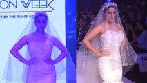 Srishty Rode walks the ramp at Bombay Times Fashion Week 2019 | FilmiBeat