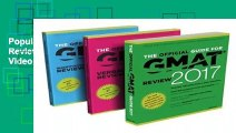 Popular The Official Guide to the GMAT Review 2017 Bundle + Question Bank + Video - GMAC (Graduate