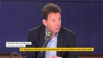 Geoffroy Roux de Bézieux, président du Medef, invité de franceinfo