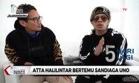 Atta Halilintar Bertemu Sandiaga Uno Bahas Soal Produk Indonesia