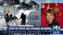 """Au Mans, la députée de la Sarthe Sylvie Tolmont (PS) dénonce """"un coup de force des forains"""""""