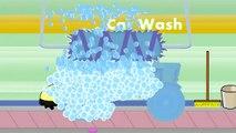 Tractor | Car Wash For Kids | Tracteur sur le Lavage de voiture | Auto lave-auto Pour Enfants