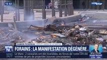 """Manifestation des forains au Mans: le député LREM de la Sarthe dénonce """"une escalade de la violence"""""""