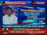 Pakistan Hindu Conversion: Two Hindu Minor Girls Forcibly Converted to Islam, traced in Islamabad