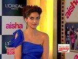 Sonam Kapoor's fashion confessions