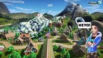 Planet Coaster: Candy Volcano! Coaster Spotlight 616 #PlanetCoaster